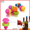 funny food grade standard silicone rubber bottle stopper