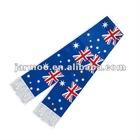 Australia polyester soccer scarf