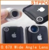 0.67X Detachable Wide and Macro Lens for Mobile Phone/Telephone