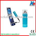 Portable emergency charger with AA battery