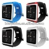 Popular aluminum silicon wrist watch case for ipod nano 6