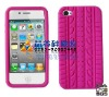 2012 NEW style silicone case for iphone 4