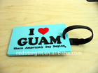 custom soft PVC baggage tag