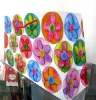 colourful paper bags with cotton cord handle