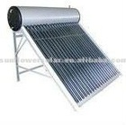 Pressurized Solar Hot Water Heater with Copper Coil for home use