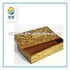 High end antique hand carved wooden gift boxes