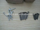 white wood screw