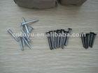 white wood screw