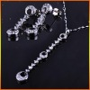 Silver jewelry sets,JE1850 & JN3066