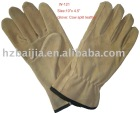 Cow split leather driver glove