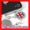 Anti Dust Stopper British Flag Charms For Smart Phone