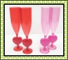 Heart high neck cup for Valentine