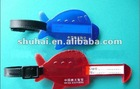 HIGH quality pvc luggage tag ,2012 Eco-friendly plastic hang tag