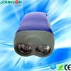2LED hand dynamo flashlight dynamo led flashlight