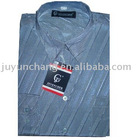 mens European style woven shirts