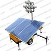 Green power Mobile Solar lighting tower