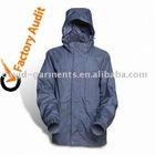 High Quality Polyester/PU Rain Jacket