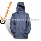 High Quality Polyester/PU Rain Jacket