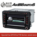 "6.5"" 2 din car dvd player for VW and skoda 2005-2013 with built in canbus and IPAS OPS and door status display function"