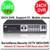 32 Channel DVR Security CCTV H.264 32CH DVR 32 CH Stand alone Mini DVR with Network