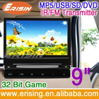 ERISIN Headrest monitor DVD 16:9 and 4:3 Screen usb car LCD monitor player