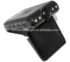 Good Night Vision with 4 LED 140 degree wide angle 2.5 inch TFT LCD 270 degree vedio screen Car Black Box
