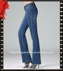 2011 new design woman fashion jean pant with hot-selling