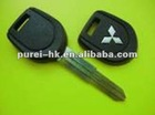 Mitsubishi transponder chips car key with 4D61 chip right blade