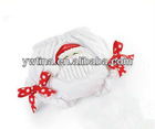 2012New style !!! New fashion baby shorts,Baby girls ruffles bloomer,baby bloomers Christmas baby rompers baby shorts