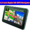 4.3 inch Touch Screen GPS Navigation