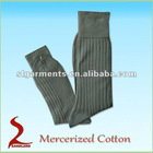 Mercerized cotton mens dress socks cotton socks