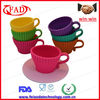 New Arrival Teacup Shaped Silicone Wholesale Cake Stands