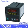 CMF700 digital counter meter accepts dry contact input