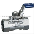 ball valve handle lock/lock open valve