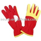 gloves,fleece gloves,polar fleece gloves,bonding fleece gloves