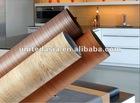 Woodgrain pvc film for furniture