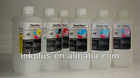 Waterbased 6colors dye inkjet digital printing ink for HP wideformat printer 5500/5000series