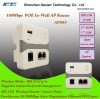 Open Source Code 150Mbps wifi Hotel In wall Access point Router with AC control