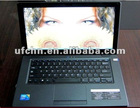 14inch laptop with inter atom D2500 1.86ghz/ram 2gb/hdd 250gb