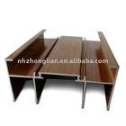 wood grain aluminium profiles