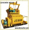 JS 500 concrete mixer from manufacturer in China