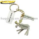 2012 name tag with cutom logo metal key chain
