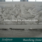 natural stone relief sculpture