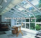 UPVC glass canopy