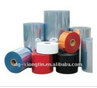 recycled color rigid pvc film for bag and shoe