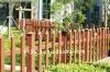 7mm Grey polycarbonate fence