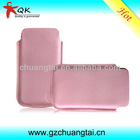 High quality genuine leather cell phone pouch fit for every model