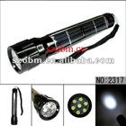 7 LED High Power Solar Power Flashlight Lamp Torch