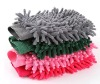 Car Wash Glove Microfiber Chenille Car Cleaning Cloth Chenille Car Cleaning
