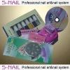 Stamping nail art kit,stamping nail art,professional nail kit,nail art kit